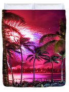 Turtle Bay - Independence Day Duvet Cover