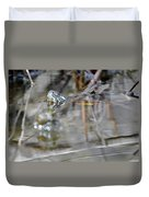 Turtle Eye Reflection Duvet Cover