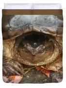 Turtle In Repose  Duvet Cover