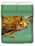 Turtle Life Duvet Cover