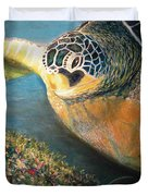 Turtle Run Duvet Cover