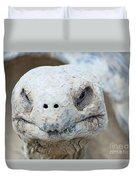 Turtle Smile  Duvet Cover