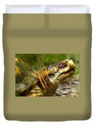 Turtle-turtle Duvet Cover by Stephanie  Varner