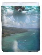 Turtle Vision Duvet Cover