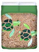 Turtles Duvet Cover