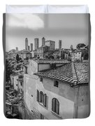 A Window To Tuscany Duvet Cover