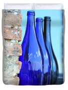 Tuscan Blue Reflections Duvet Cover