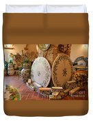 Tuscan Pottery Duvet Cover