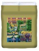 Tuscan Summer Lemonade  Duvet Cover