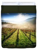 Tuscan Sunrise Duvet Cover