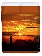Tuscan Sunset Duvet Cover