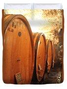 Tuscan Wine Cellar Duvet Cover