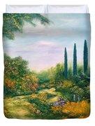 Tuscany Atmosphere Duvet Cover by Hannibal Mane