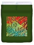 Tuscany Batik Duvet Cover