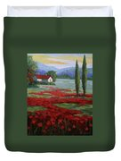 Tuscany Fields Duvet Cover