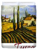 Tuscany Graphics Duvet Cover
