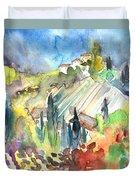 Tuscany Landscape 03 Duvet Cover