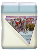 Tweed Run London 2 Guvnors  Duvet Cover
