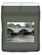 Twickenham Bridge Spans The Thames Duvet Cover