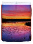 Twilight Afterglow #1 Duvet Cover