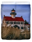 Twilight At East Point Duvet Cover