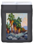 Twilight At Indian Canyons  Duvet Cover