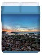 Twilight At La Jolla Cove Duvet Cover