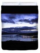 Twilight At Loch Bracadale Duvet Cover
