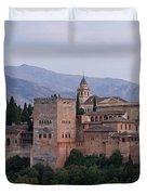 Twilight At The Alhambra Duvet Cover
