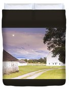 Twilight Barn - Winneconnie Duvet Cover