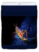 Twilight Grasshopper Duvet Cover