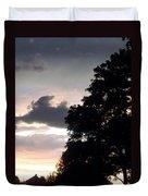 Twilight Landscape Duvet Cover