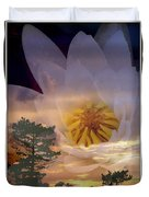 Twilight Lily Duvet Cover