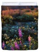 Twilight Lupine Duvet Cover