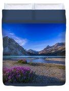 Twilight On Bow Lake, Banff National Duvet Cover