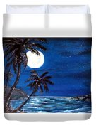 Twilight On The Bay Duvet Cover