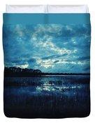 Twilight On The Lake Duvet Cover