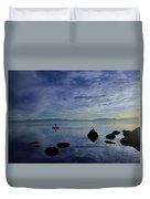 Twilight Paddle  Duvet Cover
