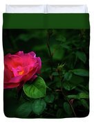 Twilight Rose Duvet Cover