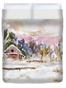 Twilight Serenade I Duvet Cover