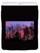 Twilight Trees Duvet Cover