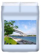 Twin Bridges Duvet Cover