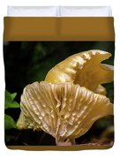 Twin Cantharellus Duvet Cover