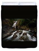 Twin Falls Landscape Duvet Cover