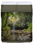 Twin Falls, Maui Duvet Cover