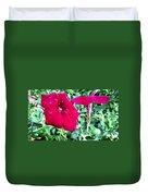 Twin Flower Power Duvet Cover
