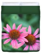 Twin Flowers Duvet Cover