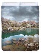 Twin Lakes - Weminuche Wilderness - Colorado Duvet Cover