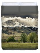 Twin Peaks Hang-in Color Duvet Cover