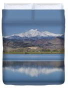 Twin Peaks Mccall Reservoir Reflection Duvet Cover by James BO  Insogna